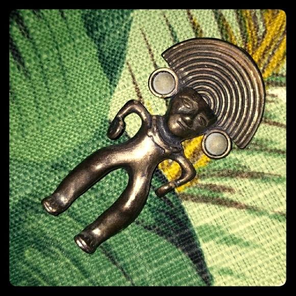 Jewelry - Mayan Brooch